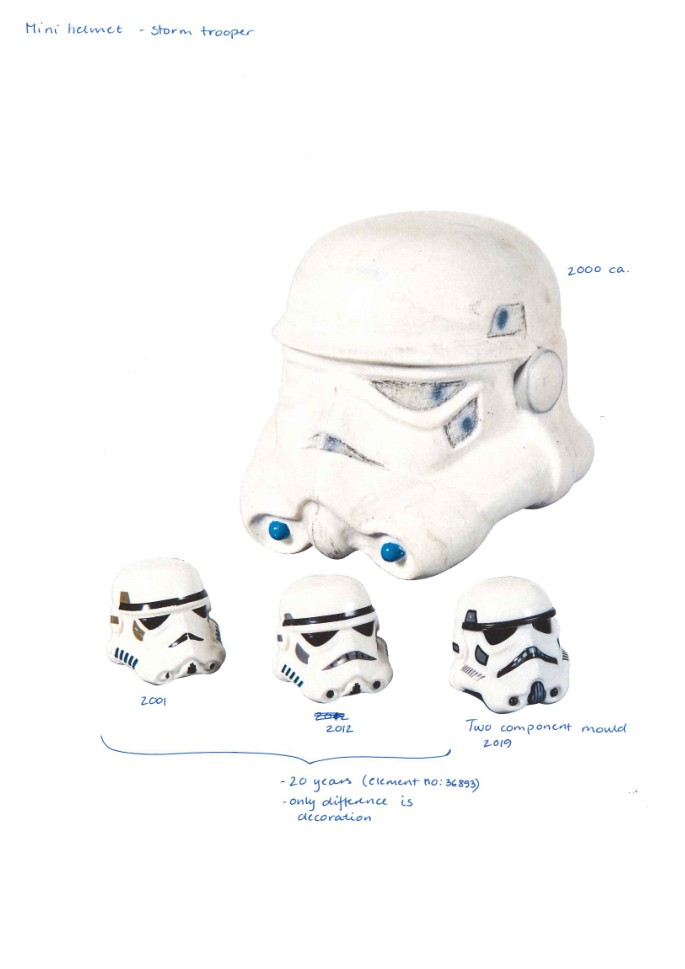 LEGO Idea House Archive StormTropperHelmet Protype 2001 20xx