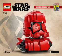 77901 lego starwars sith trooper bust sdcc 2019