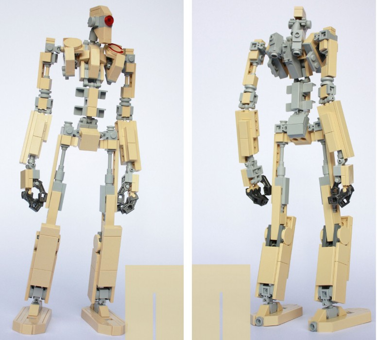 Aaron Williams BaseFrame Mecha Project Instruction by Bissi