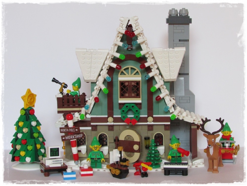 SET LEGO® 10275 - ELF CLUB HOUSE - Winter Village Collection
