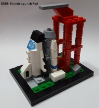 60 Anni di Lego- 6339 Shuttle Launch Pad
