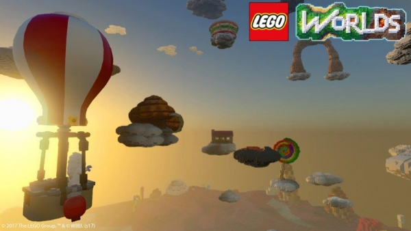 LEGO® WORLDS   Per PlayStation®4, Xbox One e STEAM™