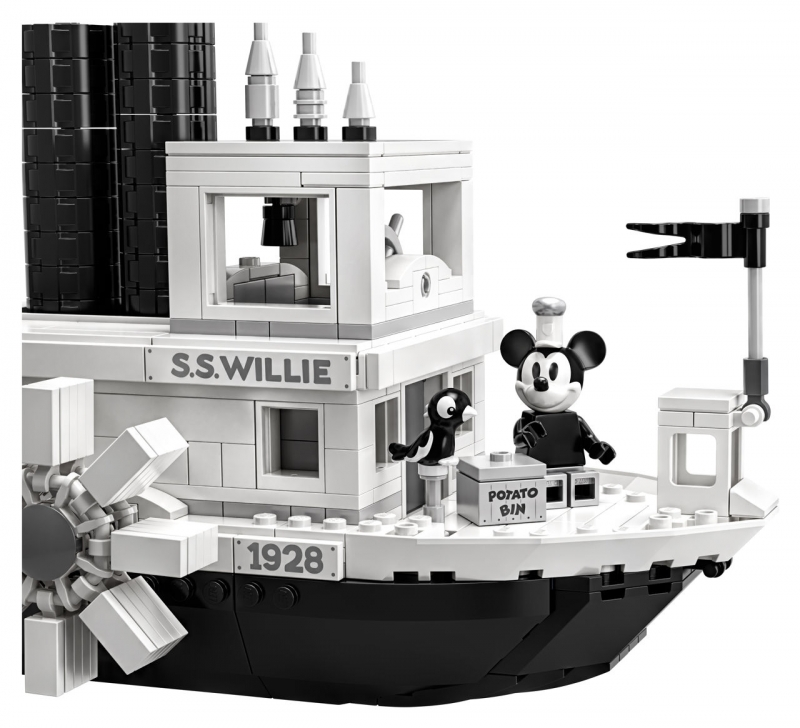 LEGO® IDEAS, 21317 STEAMBOAT WILLIE MICKEY MOUSE