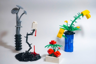 Collection of LEGO Plants