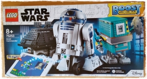 SET LEGO® 75253 STAR WARS™ BOOST DROID COMMANDER: guardiamo nella scatola