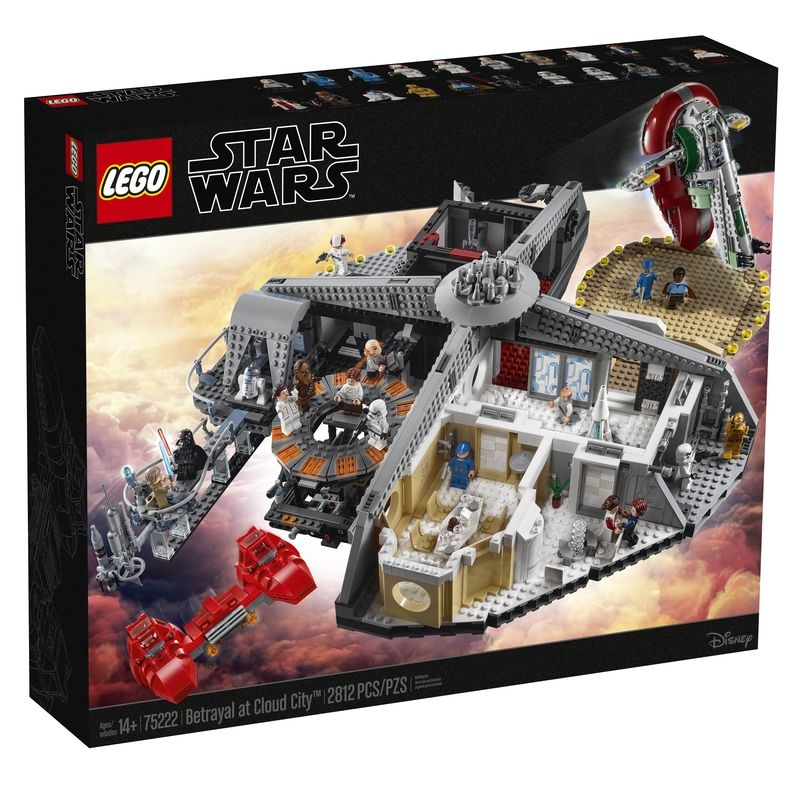 LEGO® Set, 75222 Betrayal at Cloud City