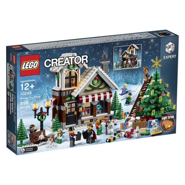 LEGO® set,  10249 Winter Toy Shop