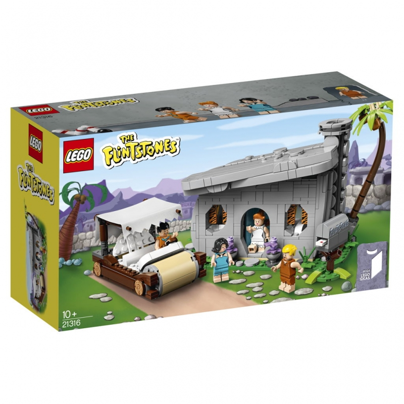 LEGO® IDEAS Set, 21316 The Flintstone