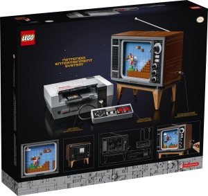 LEGO Group presenta la versione LEGO® del classico Nintendo Entertainment System™ set 71734