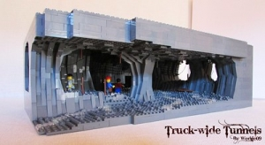 Truck wide Tunnel
