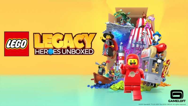 LEGO Legacy: Heroes Unboxed - recensione