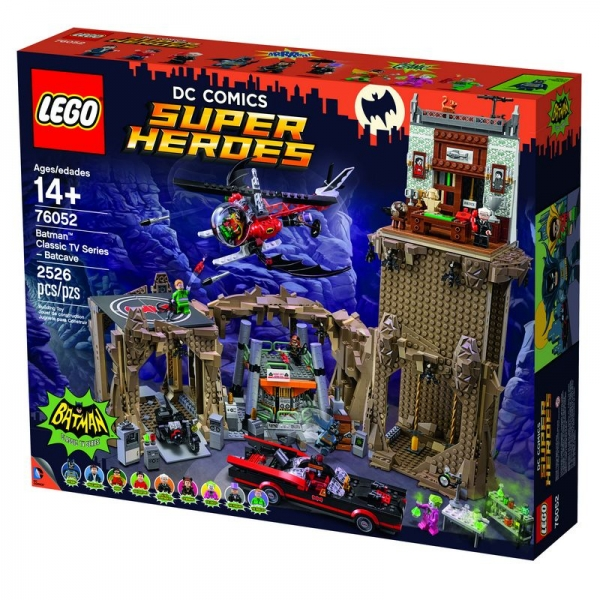 LEGO® Set,  76052 Batman™ Classic TV Series - Batcave SUPER HEROES