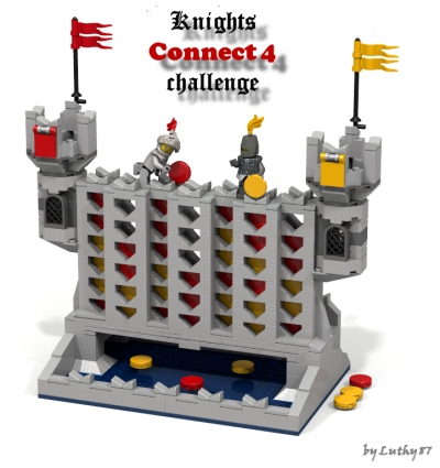 Knights Connect 4 Challenge