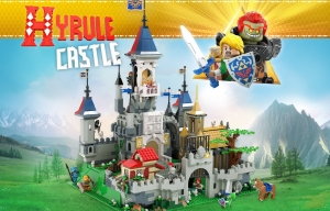 Hyrule Castle, il castello di The Legend Of Zelda prende vita su LEGO® IDEAS